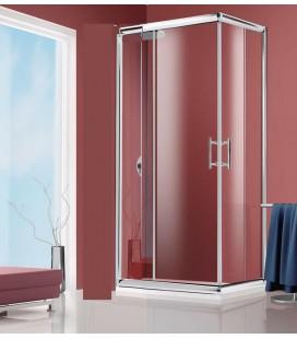 Box doccia angolare NICE LINE by Giava 70X70 in vetro temperato da 6 mm